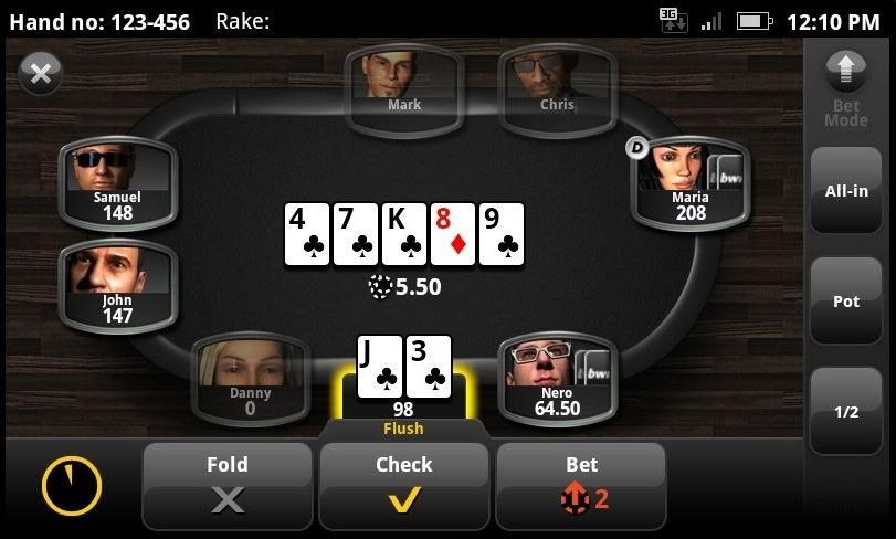 Poker apps voor je smartphone – 2020