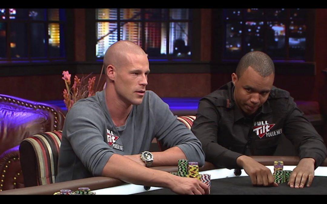Het oude-televisieprogramma Poker After Dark